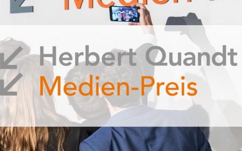 Ausschnitt der Quandt-Medien-Preis-Webseite