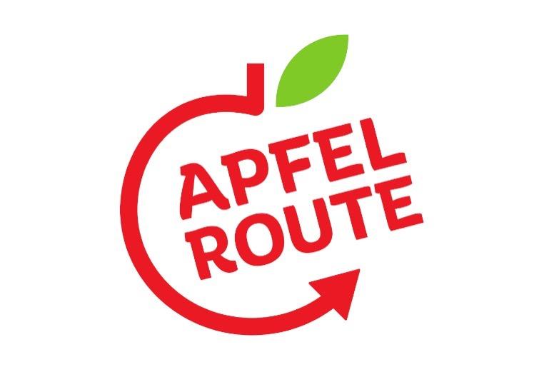 Das Logo der Rhein-Apfelroute; @Rhein-Voreifel-Touristik
